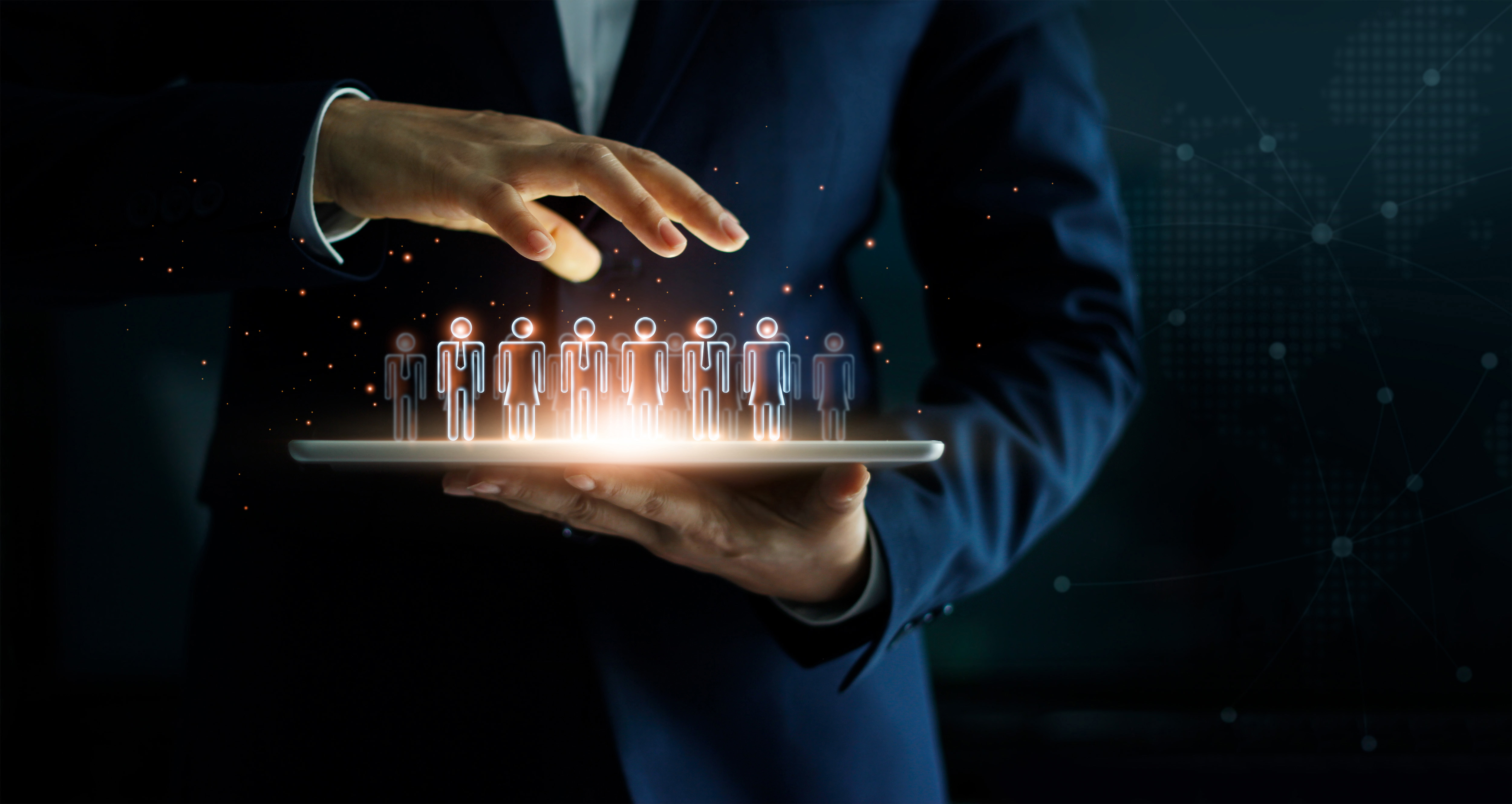 businessman-holding-tablet-management-group-people-his-hand
